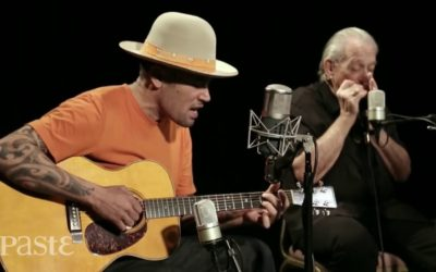 Ben Harper & Charlie Musselwhite at MC. Baby, We've Got the Blues.